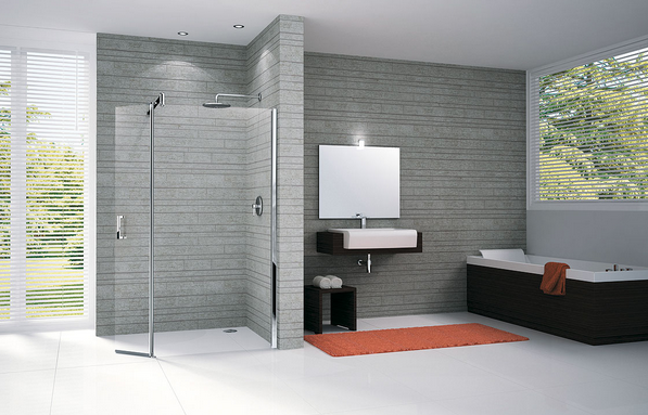 Douche l 39 italienne combien co te son installation en for Installation d une douche italienne