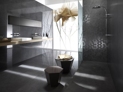 am nagement d 39 une salle de bain avec douche italienne. Black Bedroom Furniture Sets. Home Design Ideas